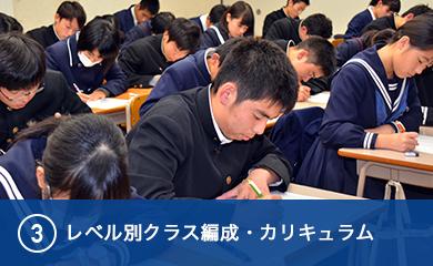 レベル別クラス編成・カリキュラム
